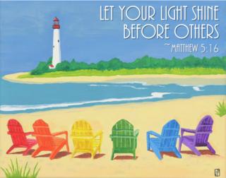 Beach Chairs Text