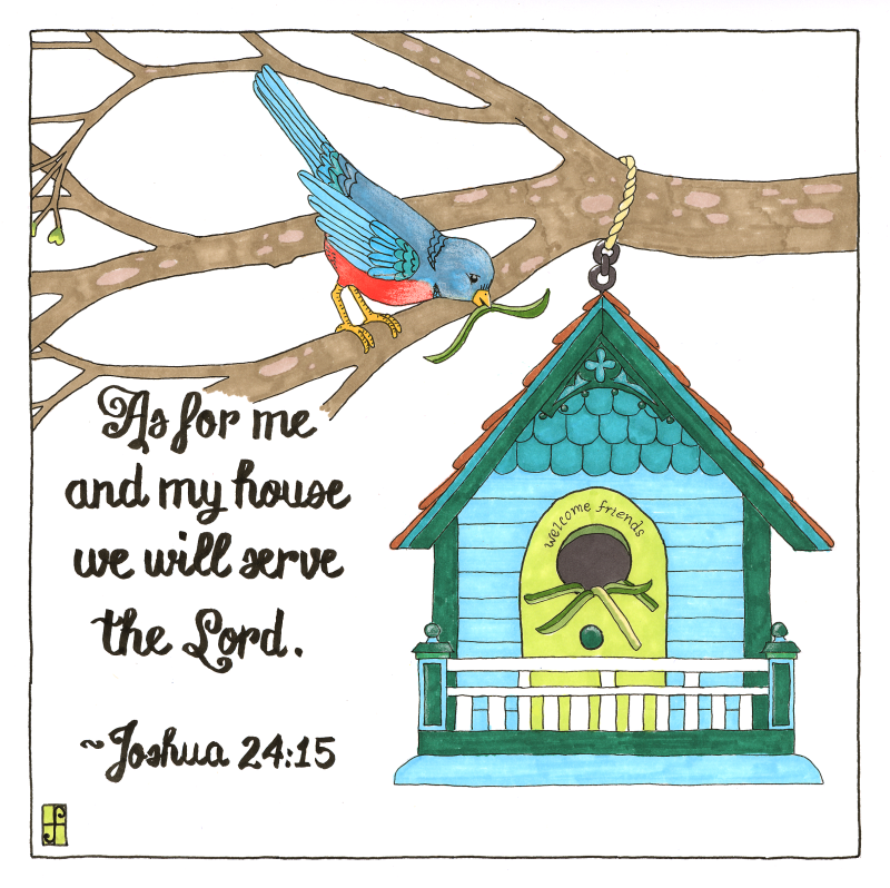 Bird House color