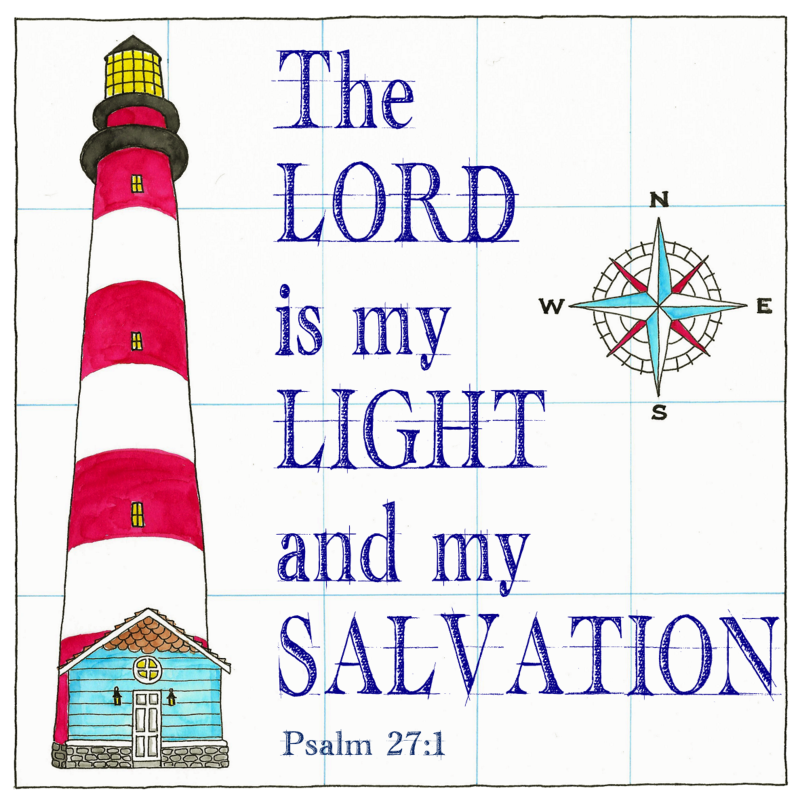 My Light and Salvation Text