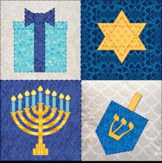Hanukkah Quilt